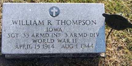 THOMPSON, WILLIAM R. - Adair County, Iowa | WILLIAM R. THOMPSON