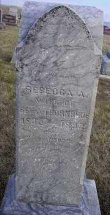 THORNBRUE, REBECCA - Adair County, Iowa | REBECCA THORNBRUE