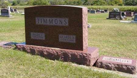 TIMMONS, GEORGE E. - Adair County, Iowa | GEORGE E. TIMMONS