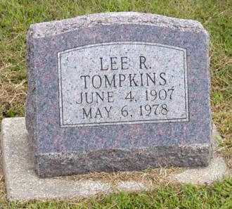 TOMPKINS, LEE R. - Adair County, Iowa   LEE R. TOMPKINS