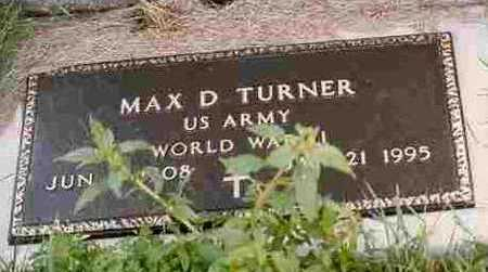 TURNER, MAX DANA - Adair County, Iowa | MAX DANA TURNER