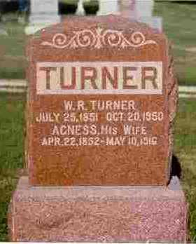 TURNER, WILLIAM REED - Adair County, Iowa | WILLIAM REED TURNER