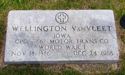 VAN VLEET, WELLINGTON - Adair County, Iowa | WELLINGTON VAN VLEET