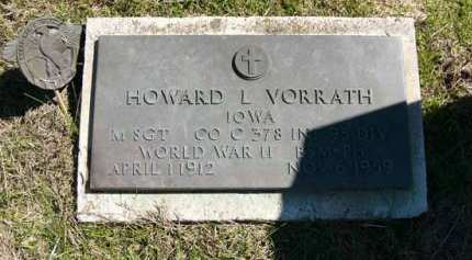 VORRATH, HOWARD L. - Adair County, Iowa | HOWARD L. VORRATH