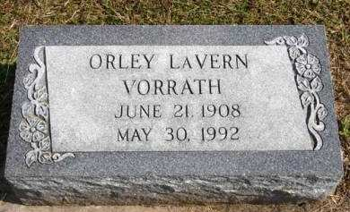 VORRATH, ORLEY LAVERN - Adair County, Iowa | ORLEY LAVERN VORRATH