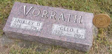 VORRATH, CLEO I. - Adair County, Iowa | CLEO I. VORRATH