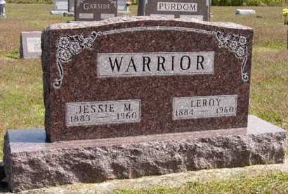 WARRIOR, LEROY - Adair County, Iowa | LEROY WARRIOR