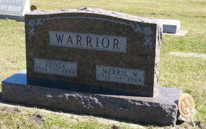 WARRIOR, MERRIL W. - Adair County, Iowa | MERRIL W. WARRIOR