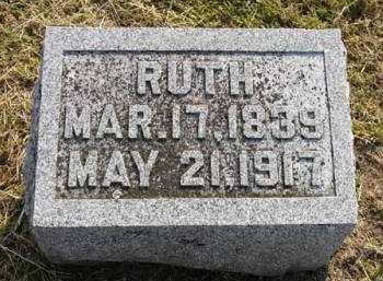 WARRIOR, RUTH - Adair County, Iowa | RUTH WARRIOR