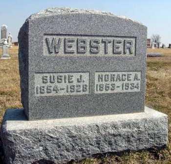 WEBSTER, HORACE A. - Adair County, Iowa | HORACE A. WEBSTER