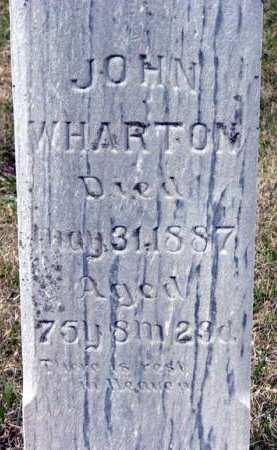 WHARTON, JOHN - Adair County, Iowa | JOHN WHARTON