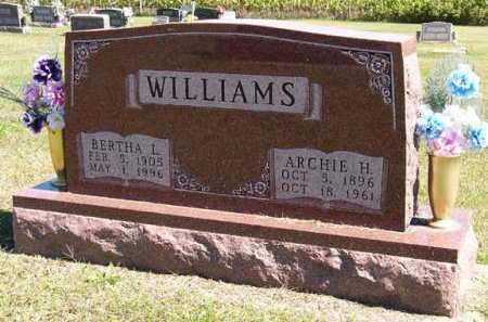 WILLIAMS, ARCHIE H. - Adair County, Iowa | ARCHIE H. WILLIAMS