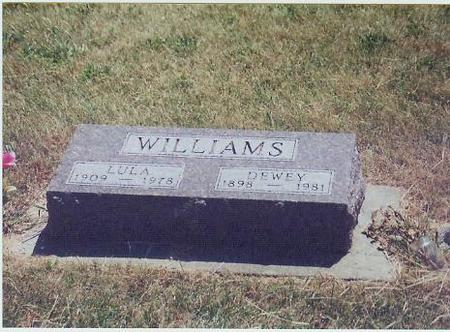 RUCH WILLIAMS, LULA - Adair County, Iowa | LULA RUCH WILLIAMS
