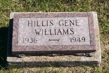 WILLIAMS, HILLIS GENE - Adair County, Iowa | HILLIS GENE WILLIAMS