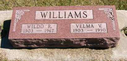WILLIAMS, WILDO R. - Adair County, Iowa   WILDO R. WILLIAMS