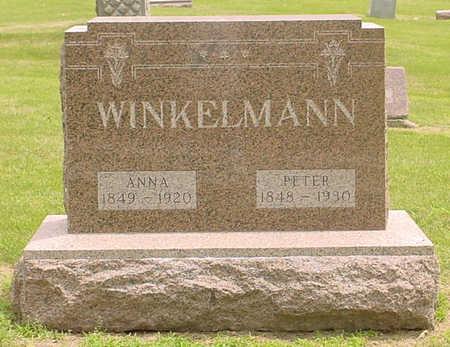 WINKELMANN, ANNA M. - Adair County, Iowa | ANNA M. WINKELMANN