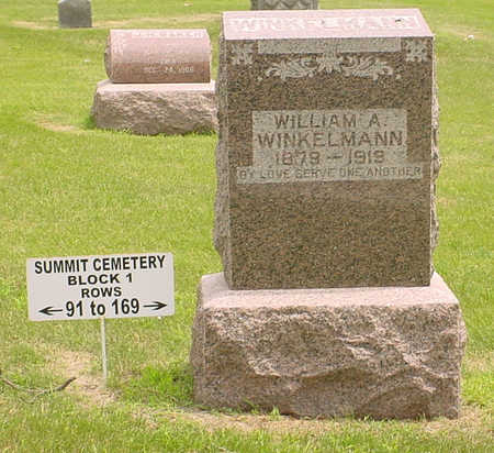 WINKELMANN, WILLIAM A. - Adair County, Iowa | WILLIAM A. WINKELMANN