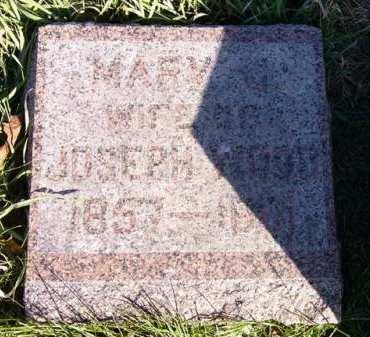 WOOD, MARY J. - Adair County, Iowa | MARY J. WOOD