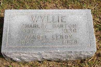WYLLIE, CHARLES BARTON - Adair County, Iowa | CHARLES BARTON WYLLIE