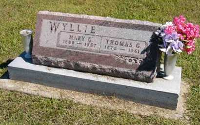 WYLLIE, MARY C. - Adair County, Iowa | MARY C. WYLLIE