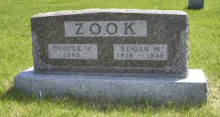ZOOK, EDGAR M. - Adair County, Iowa | EDGAR M. ZOOK