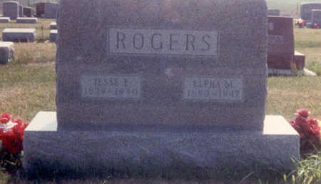 POPE ROGERS, ELPHA MAY - Adair County, Iowa | ELPHA MAY POPE ROGERS