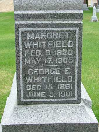 WHITFIELD, MARGARET - Adair County, Iowa | MARGARET WHITFIELD