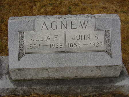 AGNEW, JULIA - Adams County, Iowa | JULIA AGNEW