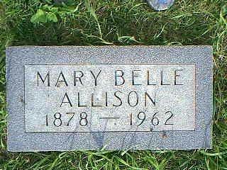 ALLISON, MARY BELLE - Adams County, Iowa | MARY BELLE ALLISON