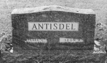ANTISDEL, LILLIE IRENE - Adams County, Iowa | LILLIE IRENE ANTISDEL