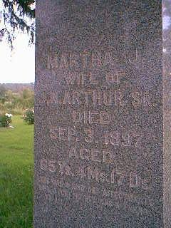 ARTHUR, MARTHA J. - Adams County, Iowa | MARTHA J. ARTHUR