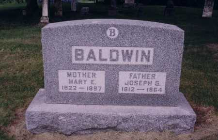 BALDWIN, JOSEPH G - Adams County, Iowa | JOSEPH G BALDWIN