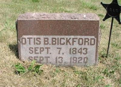 BICKFORD, OTIS - Adams County, Iowa | OTIS BICKFORD