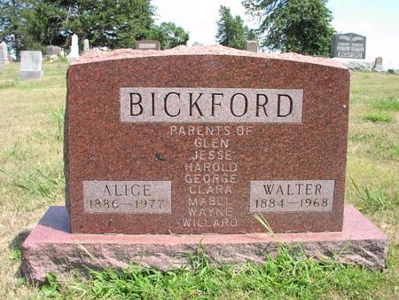 BICKFORD, ALICE - Adams County, Iowa | ALICE BICKFORD