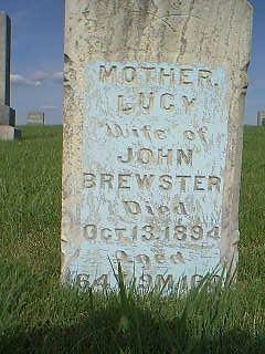 BREWSTER, LUCY - Adams County, Iowa | LUCY BREWSTER