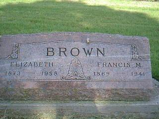 BROWN, ELIZABETH GOLDSMITH - Adams County, Iowa | ELIZABETH GOLDSMITH BROWN