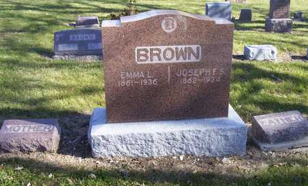 BROWN, JOSEPH - Adams County, Iowa | JOSEPH BROWN