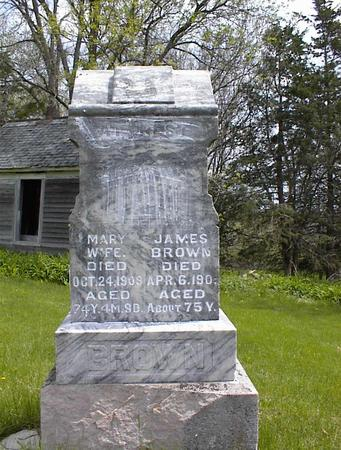 BROWN, JAMES - Adams County, Iowa | JAMES BROWN