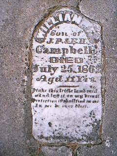 CAMPBELL, WILLIAM - Adams County, Iowa | WILLIAM CAMPBELL