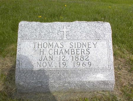 CHAMBERS, THOMAS SIDNEY H. - Adams County, Iowa | THOMAS SIDNEY H. CHAMBERS