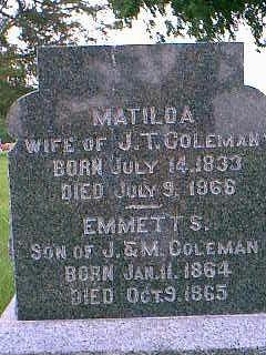 COLEMAN, EMMETT S. - Adams County, Iowa | EMMETT S. COLEMAN