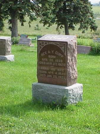 CUPP, A.Y. - Adams County, Iowa | A.Y. CUPP