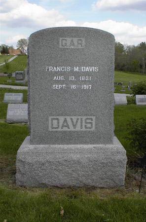 DAVIS, FRANCIS M. - Adams County, Iowa | FRANCIS M. DAVIS