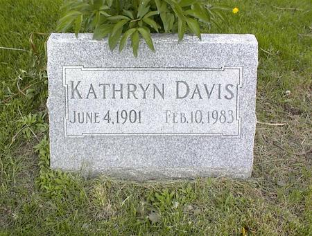 DAVIS, KATHRYN - Adams County, Iowa | KATHRYN DAVIS