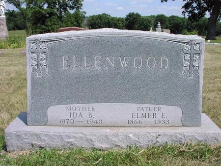 ELLENWOOD, ELMER E. - Adams County, Iowa | ELMER E. ELLENWOOD