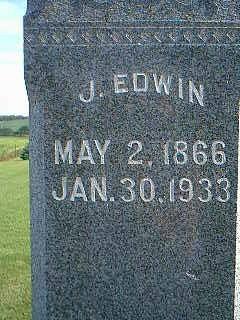 EVANS, J. EDWIN - Adams County, Iowa | J. EDWIN EVANS