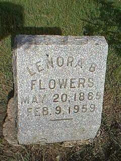 FLOWERS, LENORA B. - Adams County, Iowa | LENORA B. FLOWERS