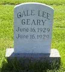 GEARY, GALE - Adams County, Iowa | GALE GEARY