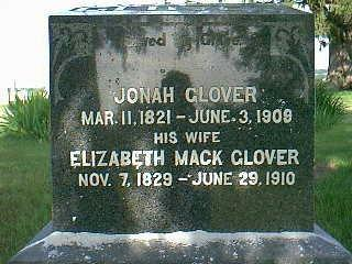 GLOVER, ELIZABETH - Adams County, Iowa | ELIZABETH GLOVER