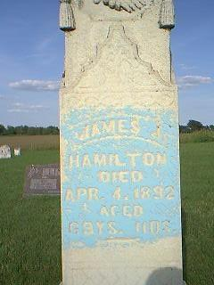 HAMILTON, JAMES - Adams County, Iowa | JAMES HAMILTON